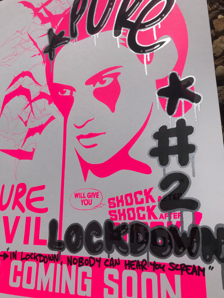 Handfinished print - Winona Lockdown #2