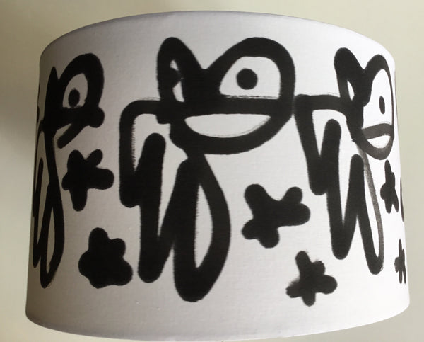 Pure Evil Bunny Lampshade BLACK