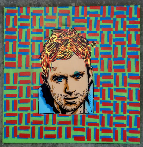 Cartoonneros - Damon Albarn Square