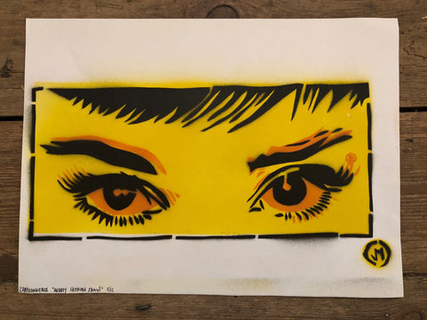 Cartooneros - Audrey Eyes Yellow