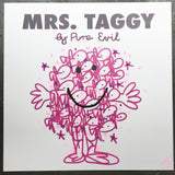 Mrs. Taggy - Pink & Purple Handfinishing
