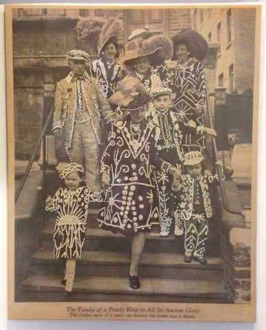 The Family of a Pearly King in All Its Ancient Glory