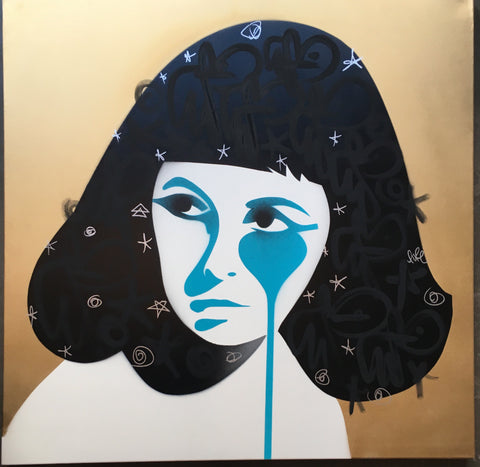 Cleopatra (Liz Taylor) - Handfinished Gold
