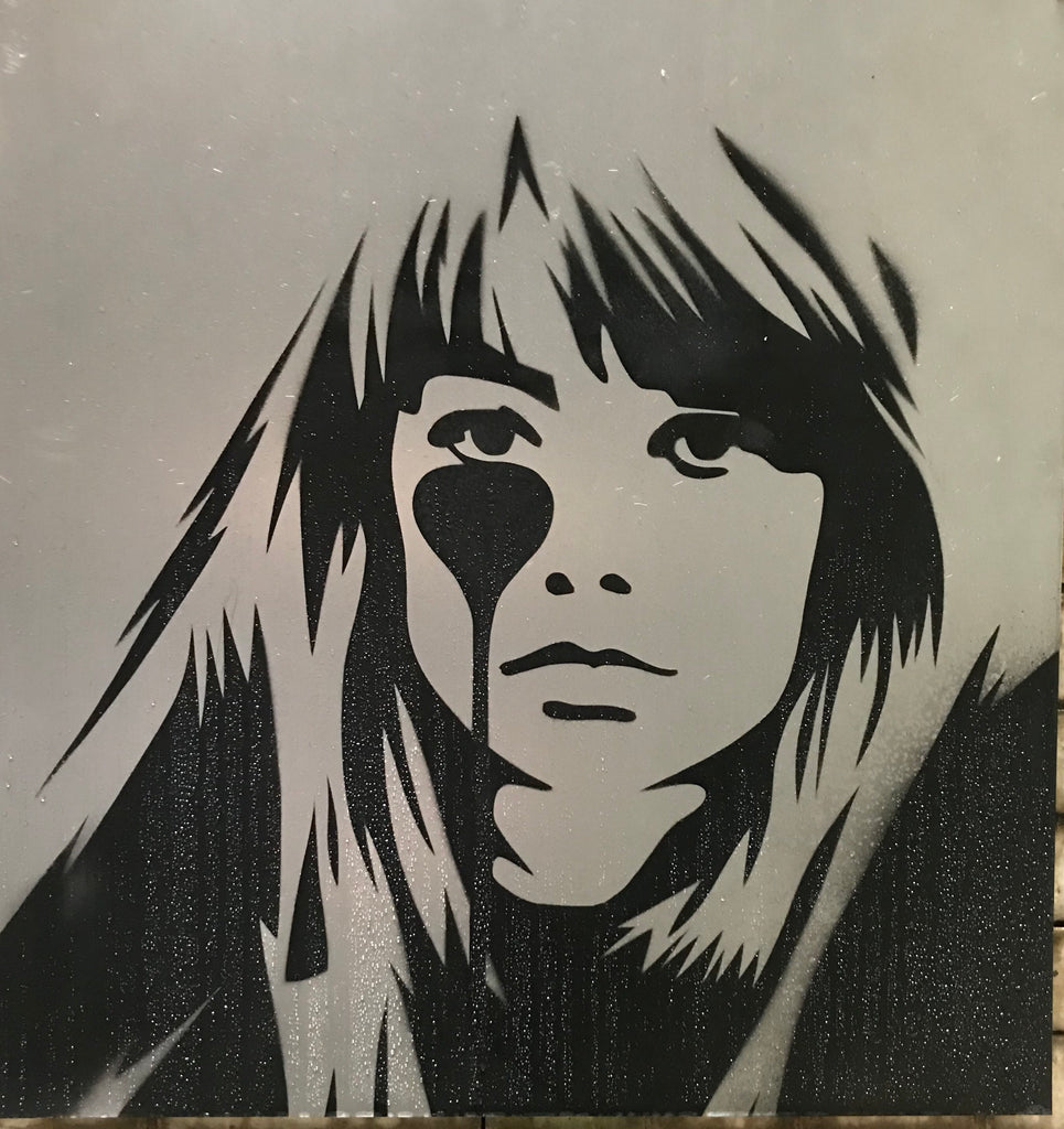 Françoise Hardy on Steel - Rust never sleeps