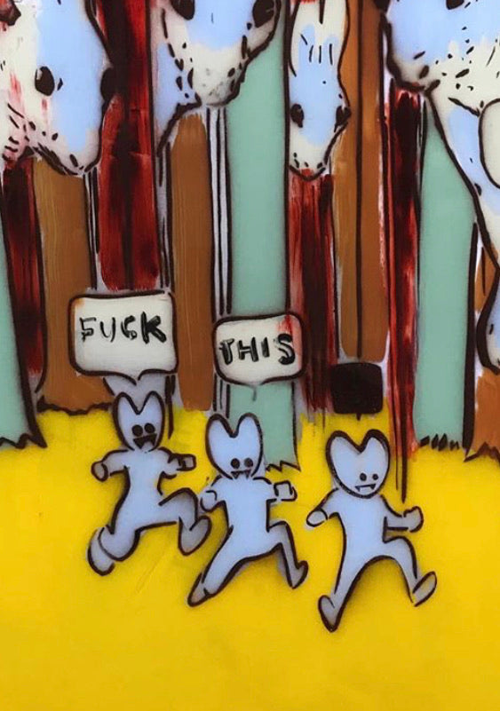 Forest of the damned bunnies