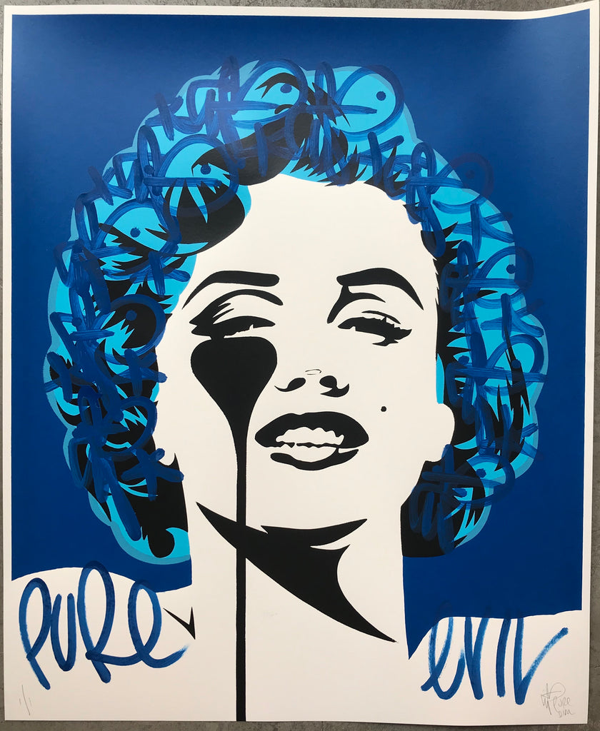 I dream of Marilyn  - True Blue Tag