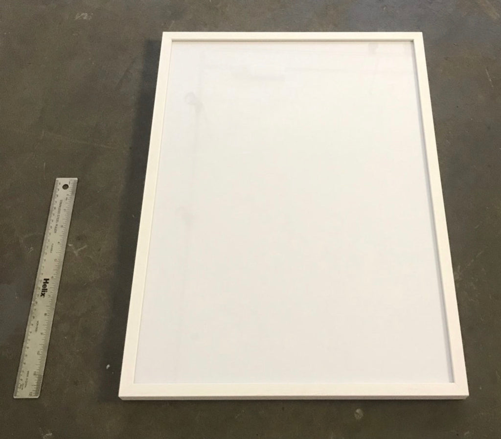 Medium white frame (print not included)