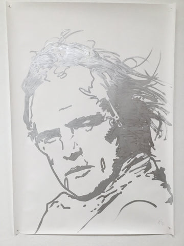 Brando - Swedish Show KRINK drawing on paper