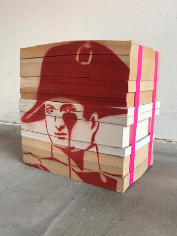 Napoleon Book Portrait - Red