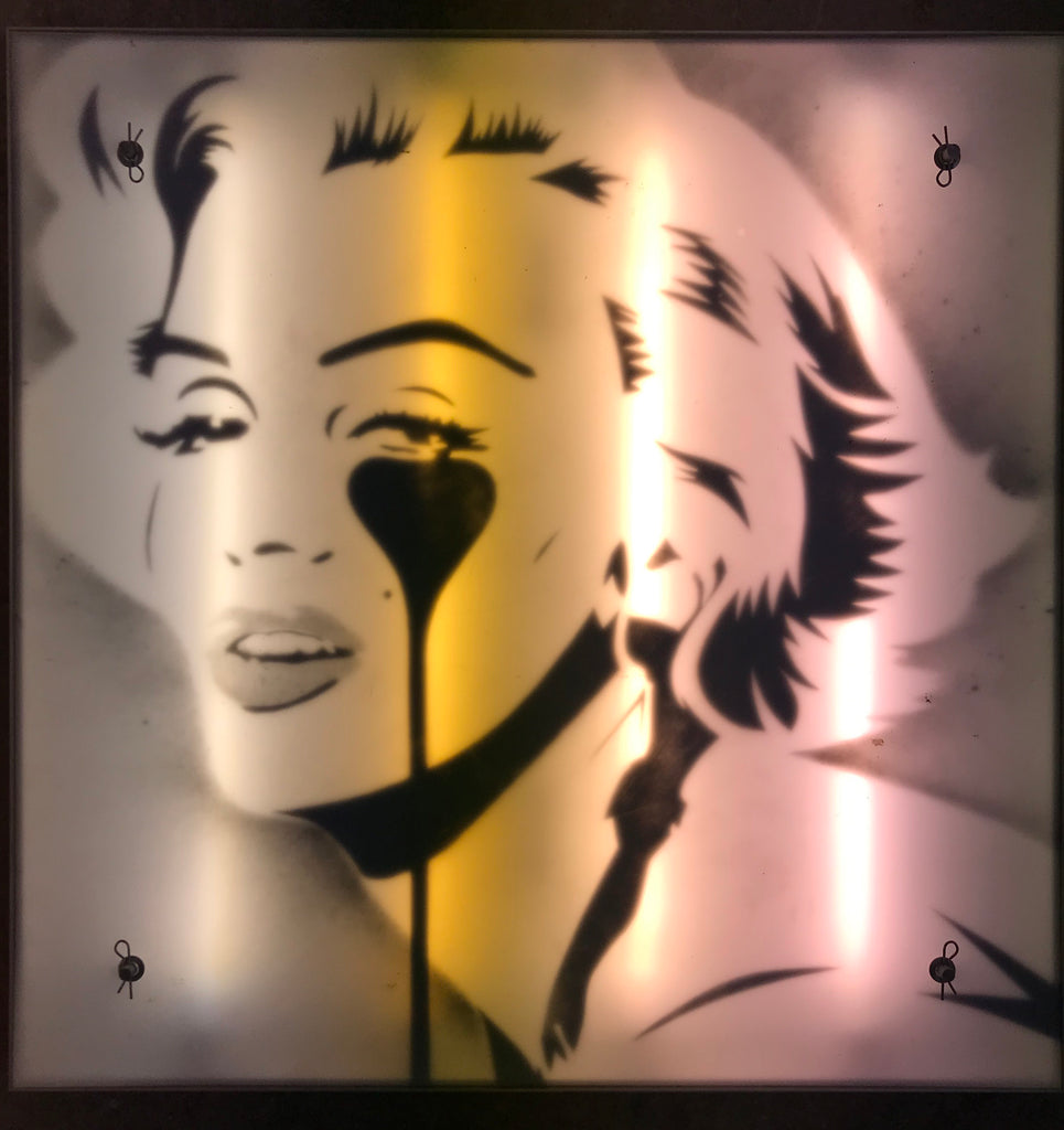Marilyn Glam - Metal Light Box