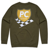 JACKIE CREWNECK SWEATER GREEN