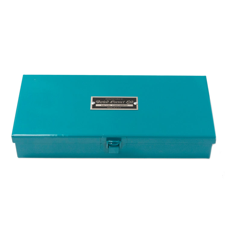 P.C. MEDIUM STEEL CASE MIAMI BLUE