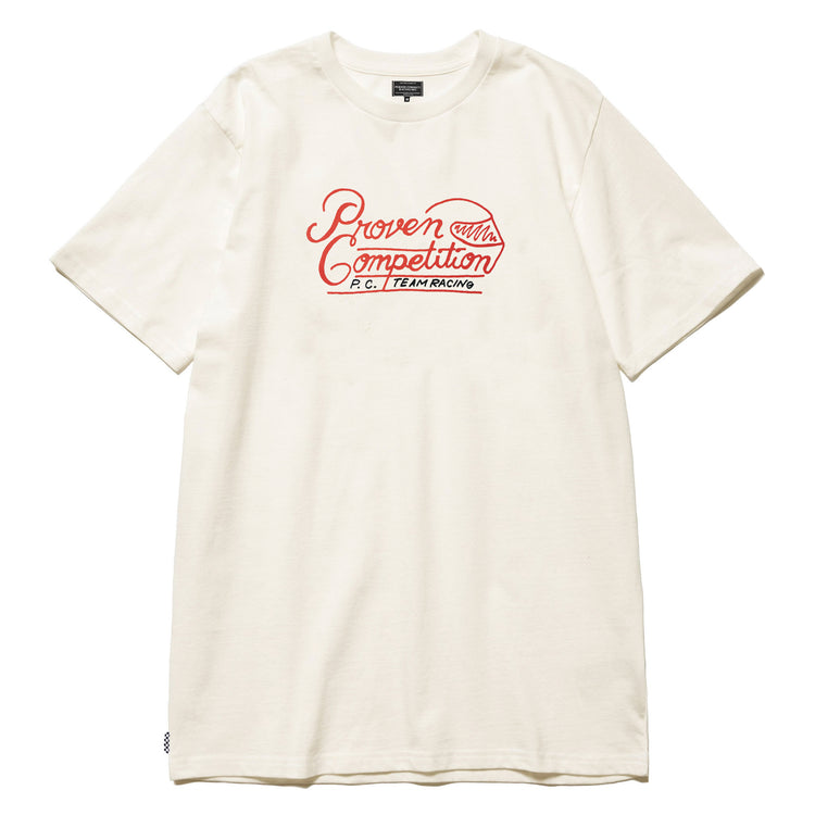 PROVEN COMPETITION TEAM RACING T-SHIRT OFF WHITE