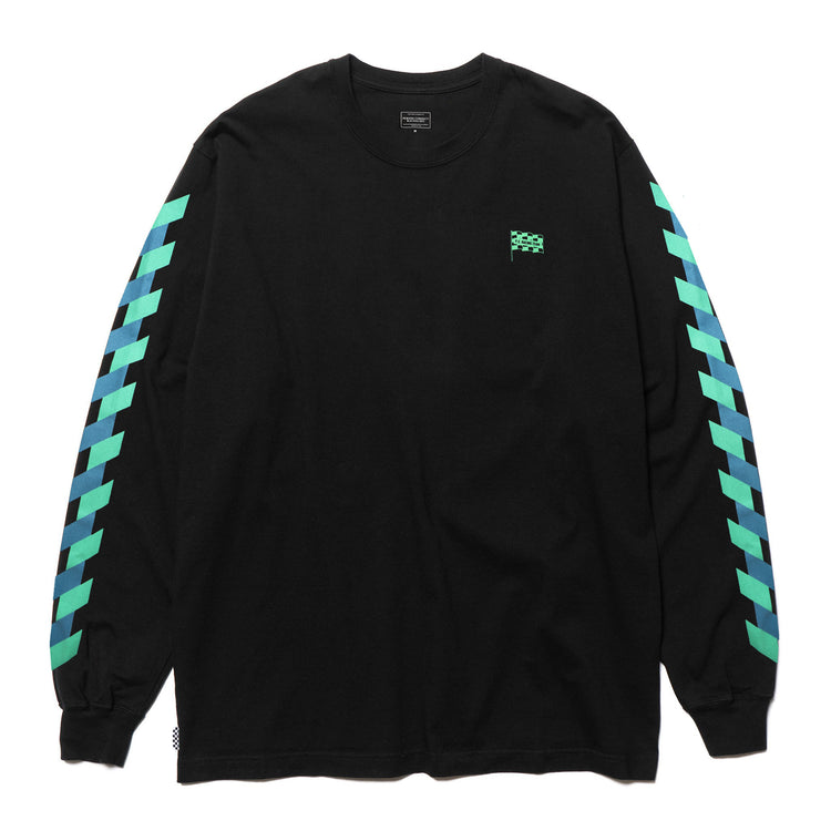 AUTOCROSS L/S T-SHIRT BLACK