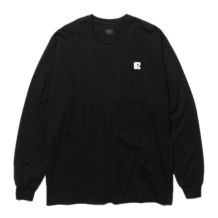 MOTOR RACES L/S T-SHIRT BLACK