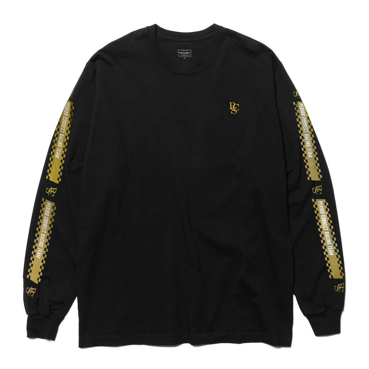 BLACK & GOLD L/S T-SHIRT