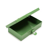 P.C. SMALL STEEL CASE GREEN