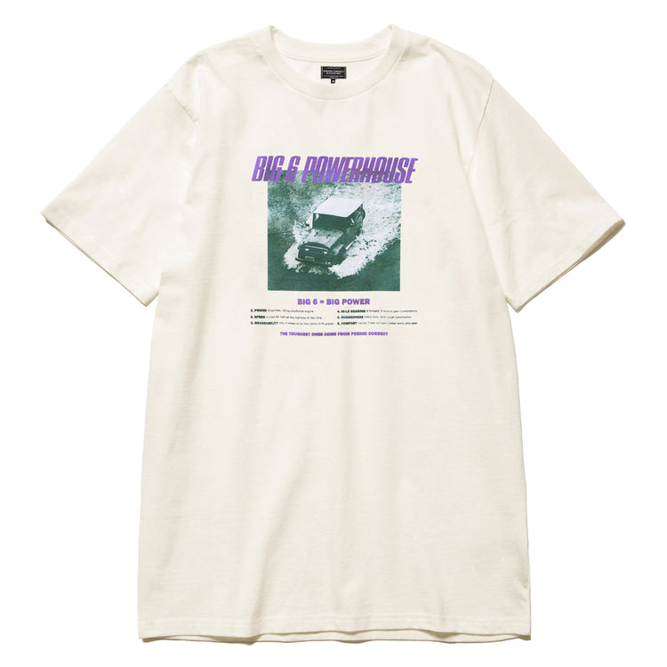 BIG 6 PHOTO T-SHIRT OFF-WHITE