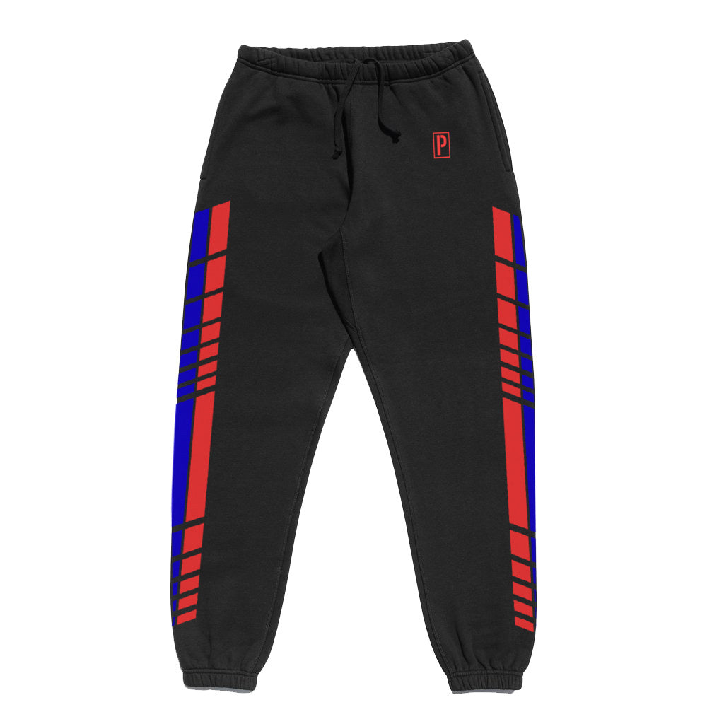 LIVERY HEAVYWEIGHT SWEATPANTS BLACK