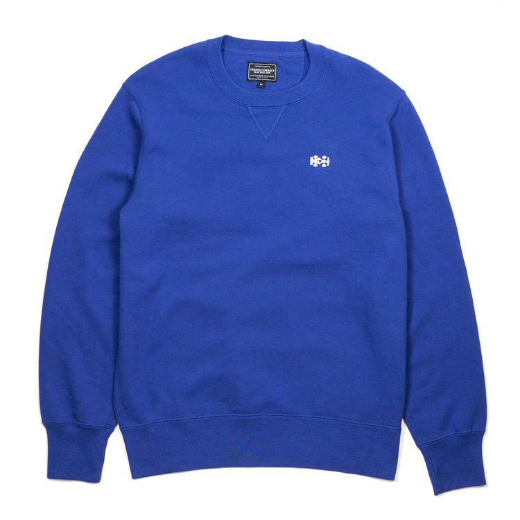 SPORTS ELEGANCE CREWNECK BLUE