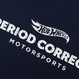"HOT WHEELS ""MOTORSPORTS"" T-SHIRT NAVY"