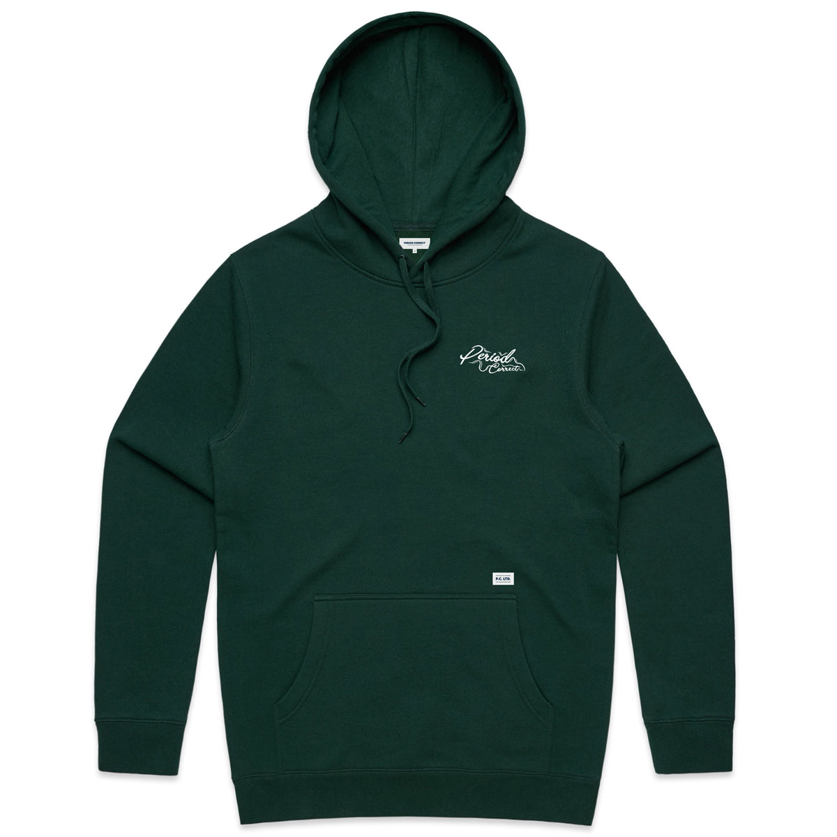TYRED HOODIE FOREST GREEN