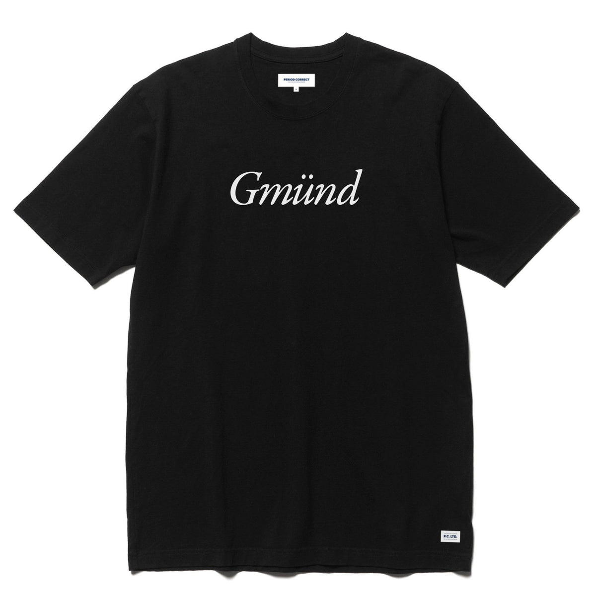 PC GMUND T-SHIRT BLACK