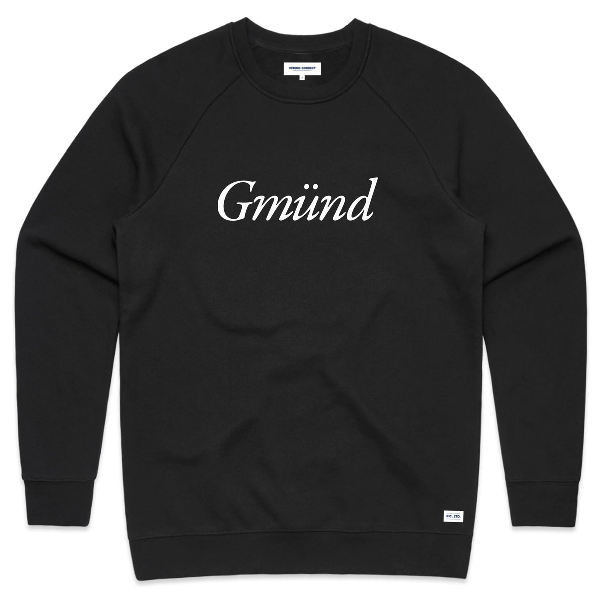 GMUND CREWNECK SWEATER BLACK