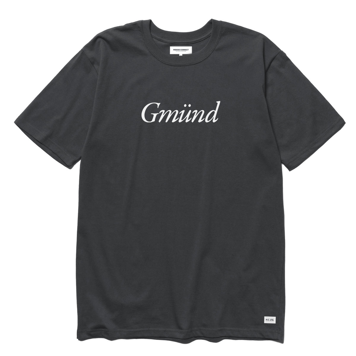 PC GMUND T-SHIRT GREY