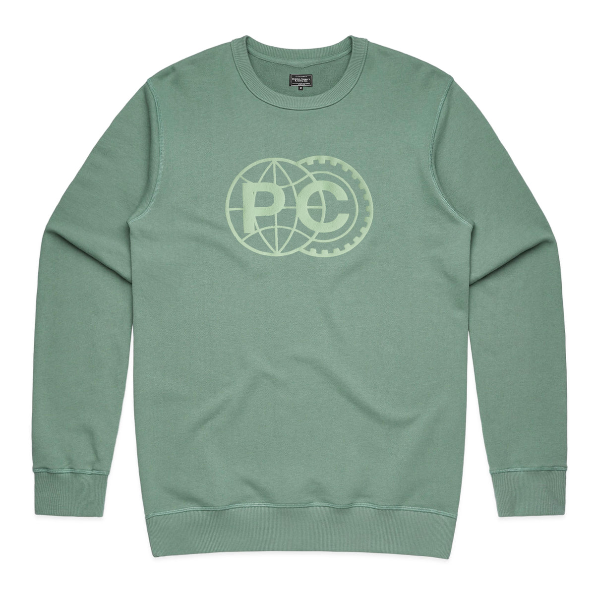 FIA FRENCH TERRY CREWNECK SWEATER