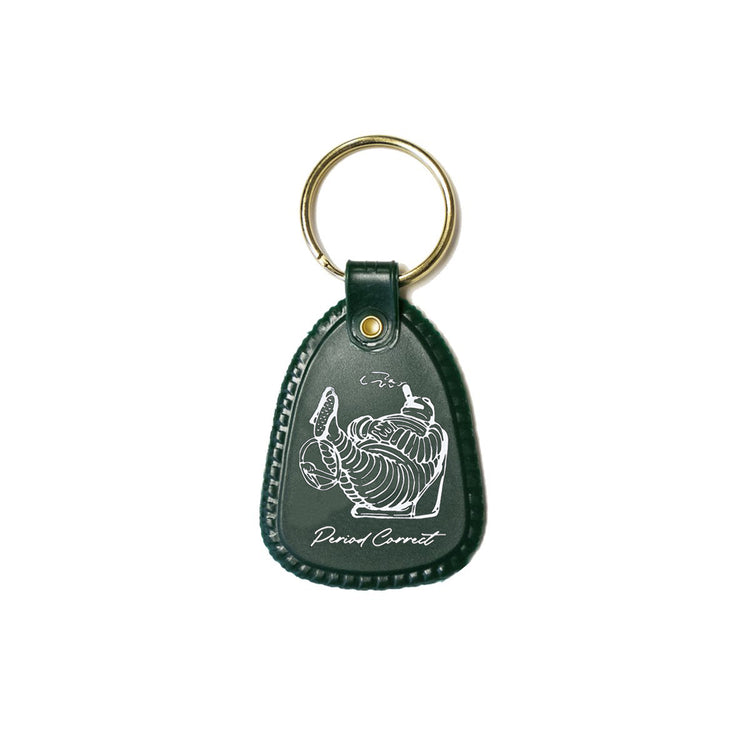TYRED KEYCHAIN GREEN