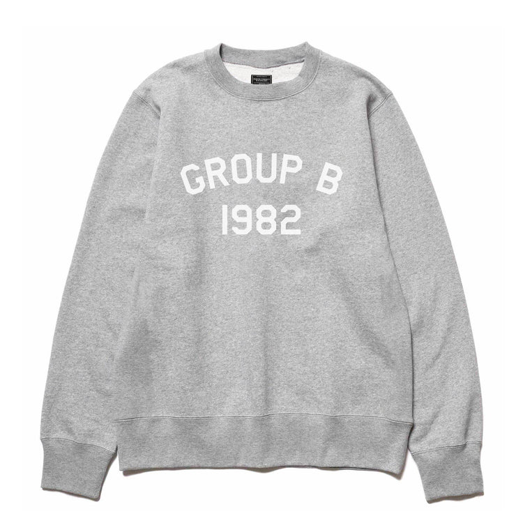 1982 CREWNECK SWEATER GRAY