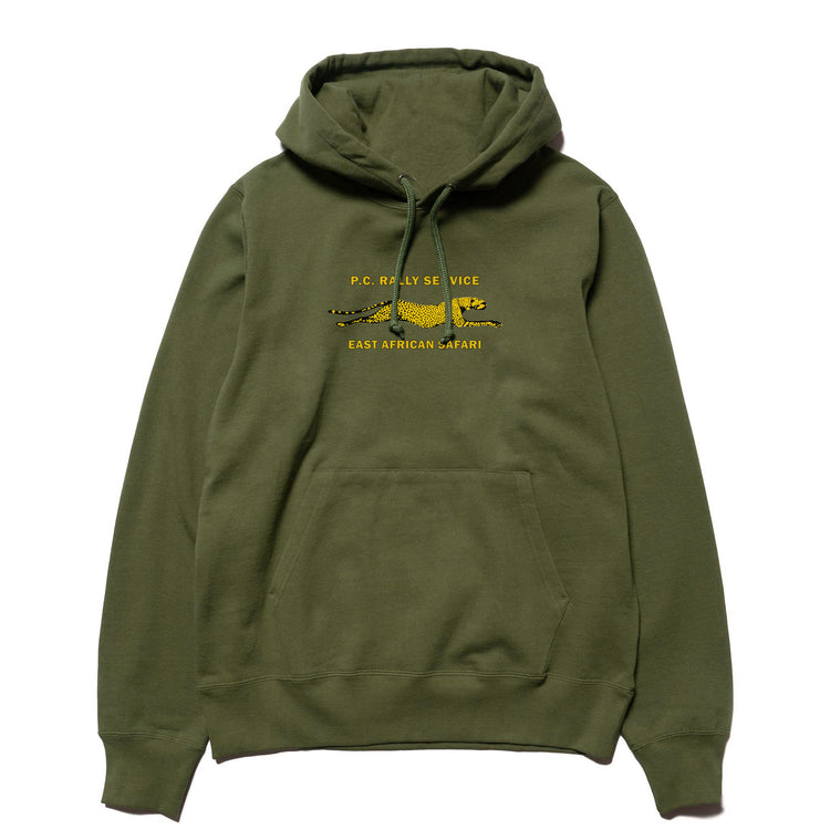RALLY SERVICE HOODIE GREEN