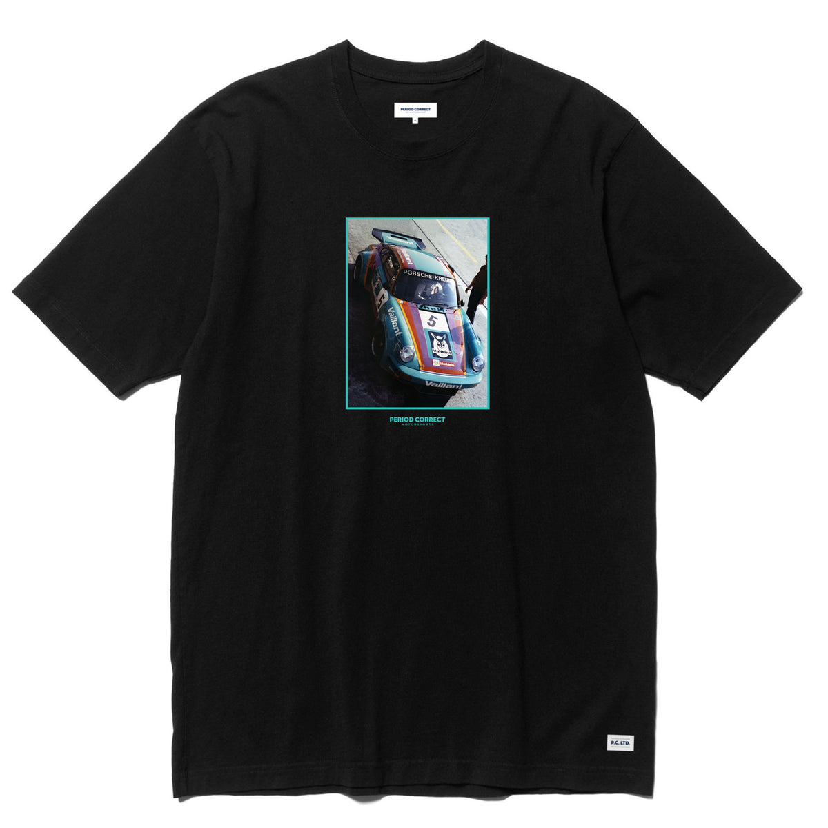 NUMBER 5 PHOTO T-SHIRT BLACK