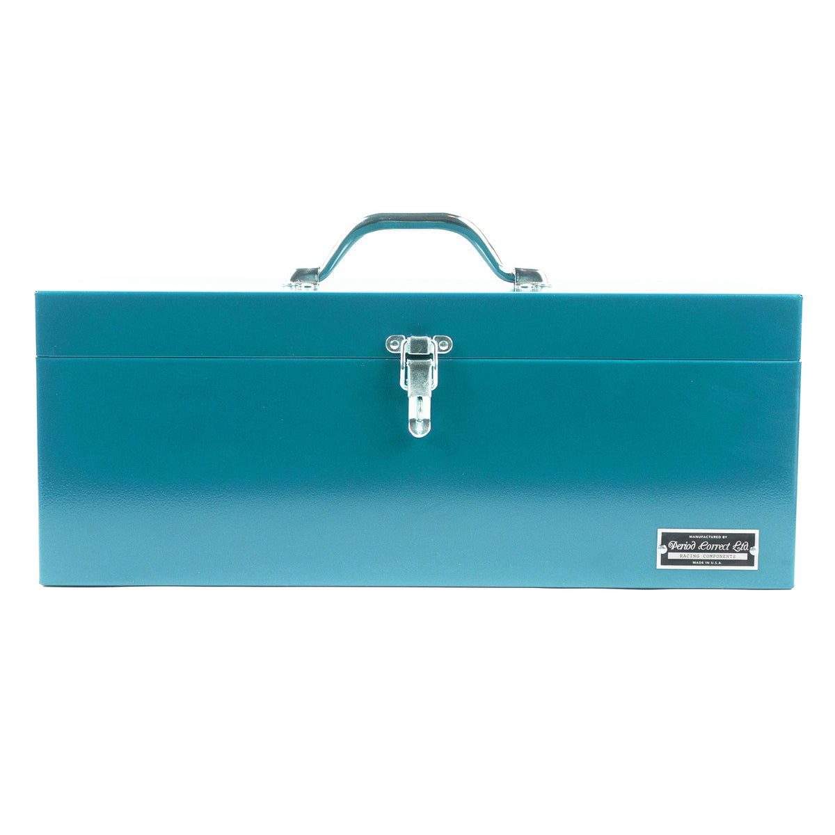 LARGE ENGINEERING TOOL BOX MIAMI BLUE
