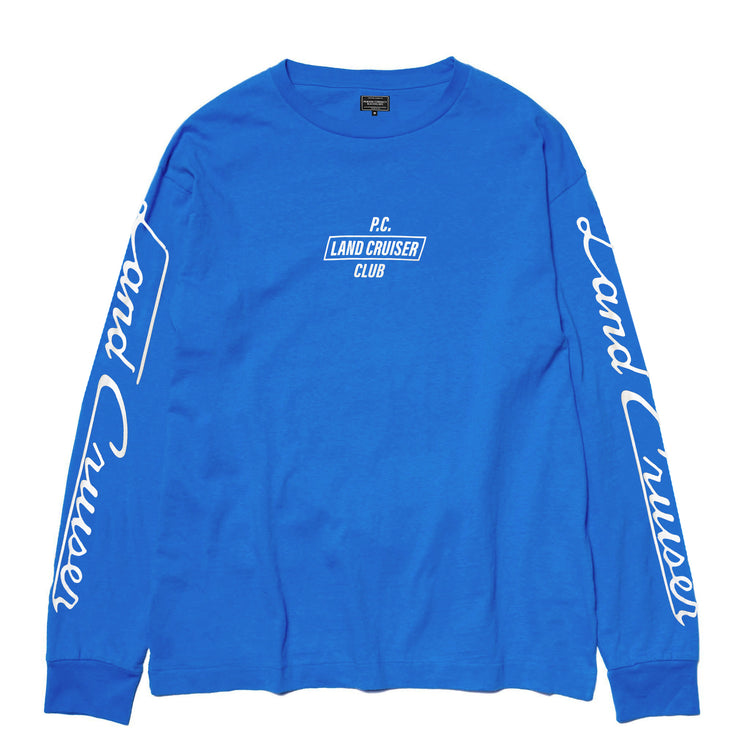 LAND CRUISER CLUB L/S T-SHIRT BLUE