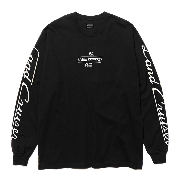 LAND CRUISER CLUB L/S T-SHIRT BLACK