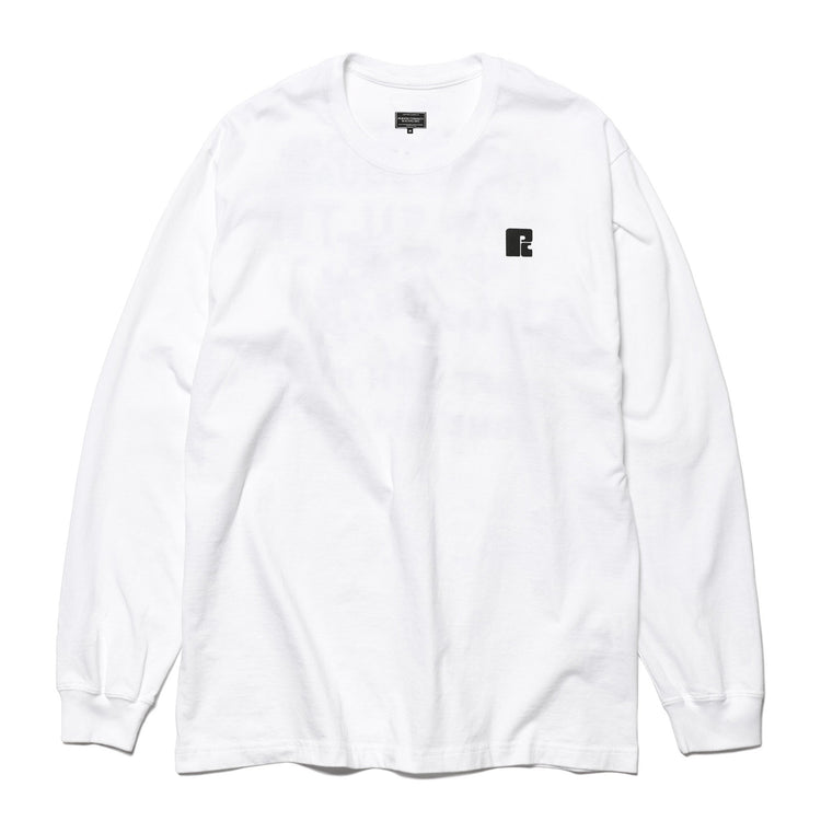 MOTOR RACES L/S T-SHIRT WHITE