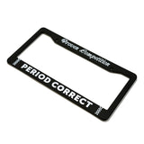 PROVEN COMPETITION PLATE FRAME