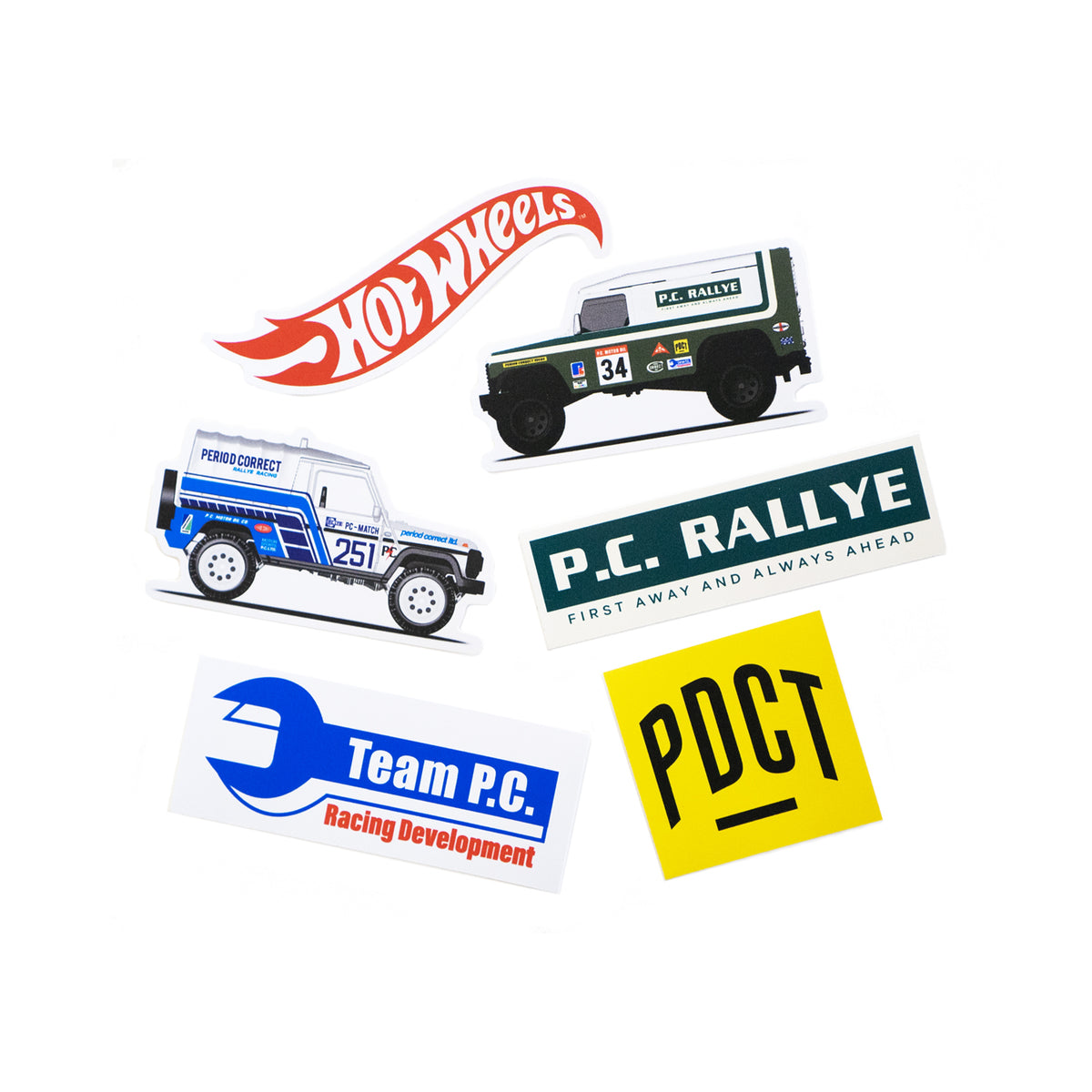 HOT WHEELS OVERLAND STICKER PACK