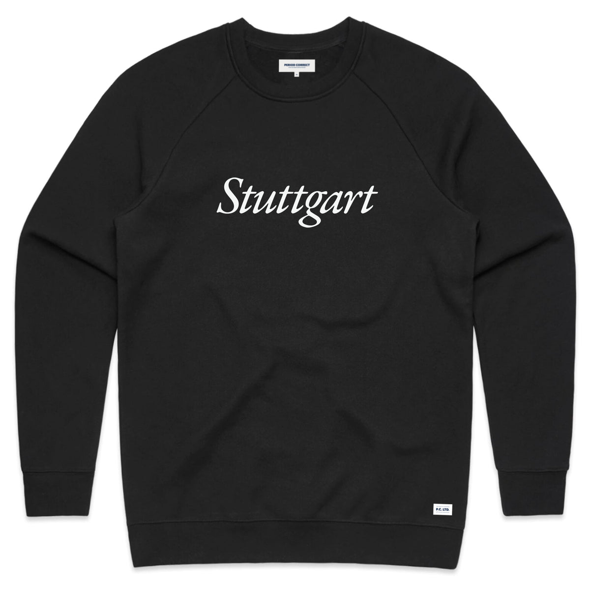 STUTTGART CREWNECK SWEATER BLACK