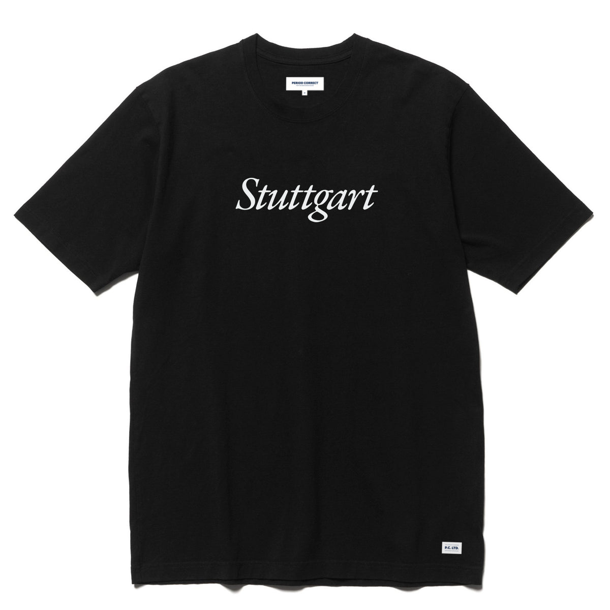 PC STUTTGART T-SHIRT BLACK
