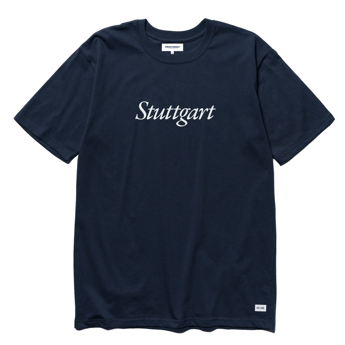 PC STUTTGART T-SHIRT NAVY