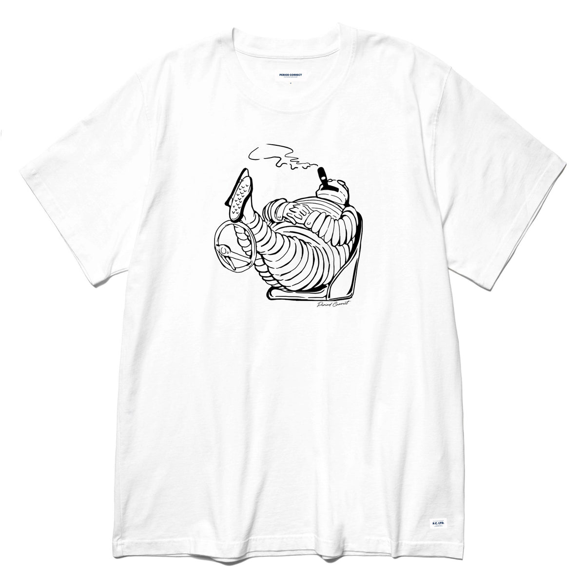 TYRED T-SHIRT WHITE