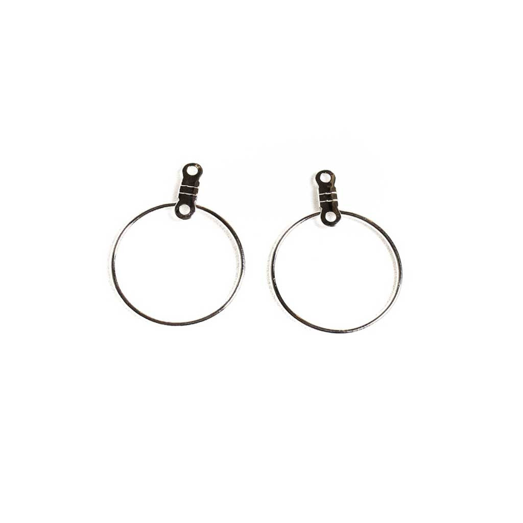 20mm Round Earhoops