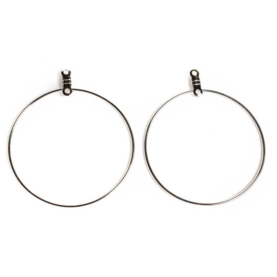 38mm Round Earhoops