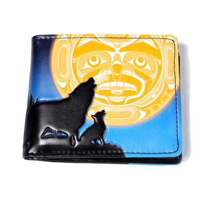 'A New Song' Wallet by Andy Everson