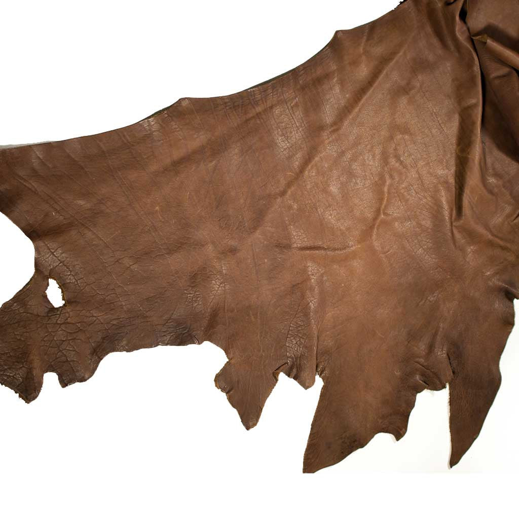 Large Brown Buffalo Hide - Beaded Dreams