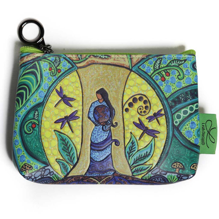 'Strong Earth Woman' Coin Purse by Leah Dorion