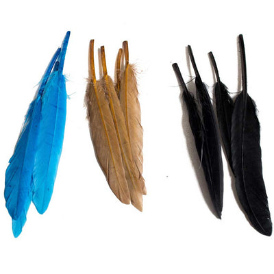 Duck Wing Quill 3-4""